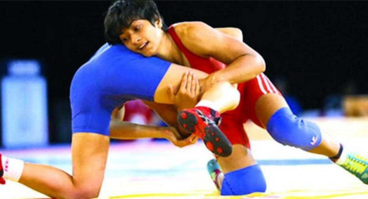 Phogat wins in 48kg freestyle event at Rio