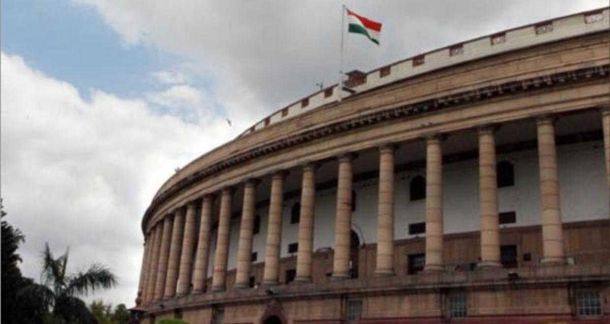 National Herald issue: Both houses of parliament adjourned