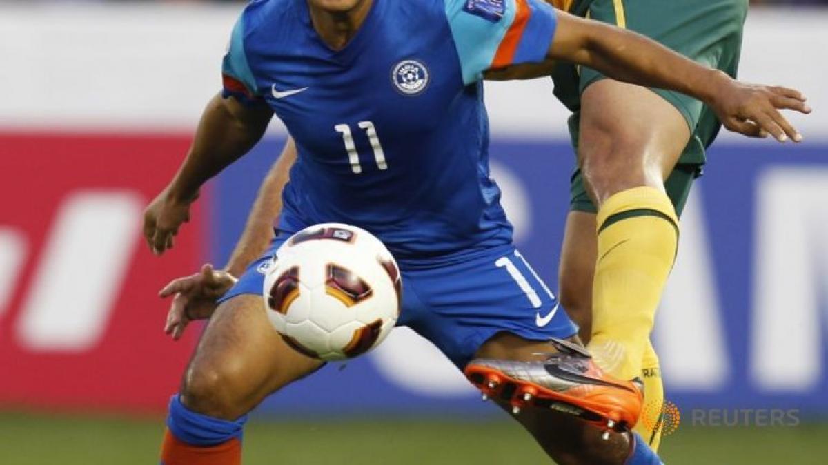 India soccer captain Chhetri says Asian Cup key to development