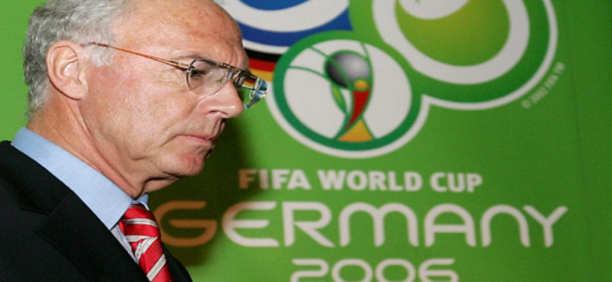 Franz Beckenbauer investigated for corruption over 2006 World Cup