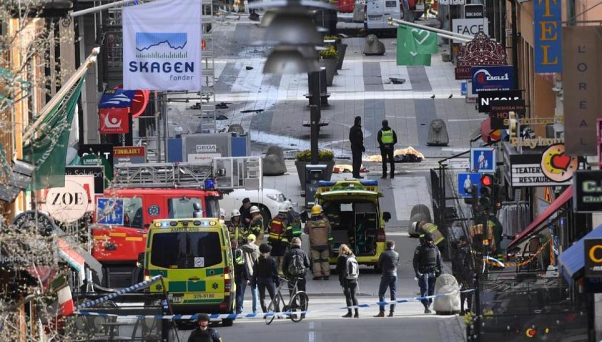 Stockholm terror attack: Truck drives into crowd killing four, 1 arrested