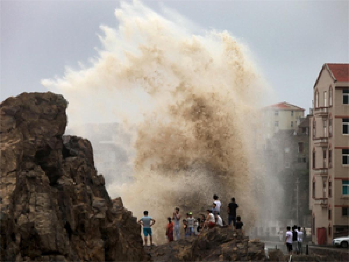 Nine killed in China typhoon