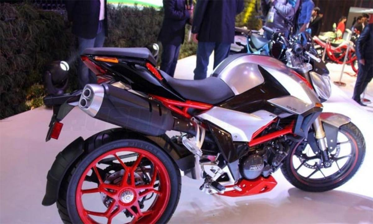 Hero XF3R Concept 300cc sportsbike features