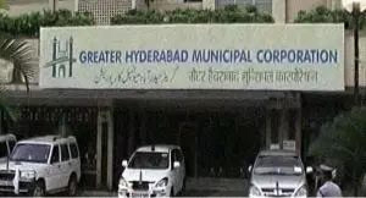 GHMC town planning wing nets 522 crore