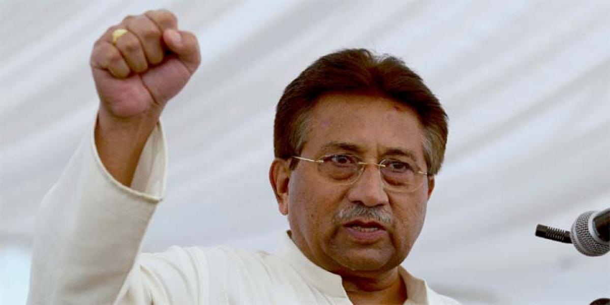 Indias first reaction to every terrorist attack is Pakistan: Musharraf