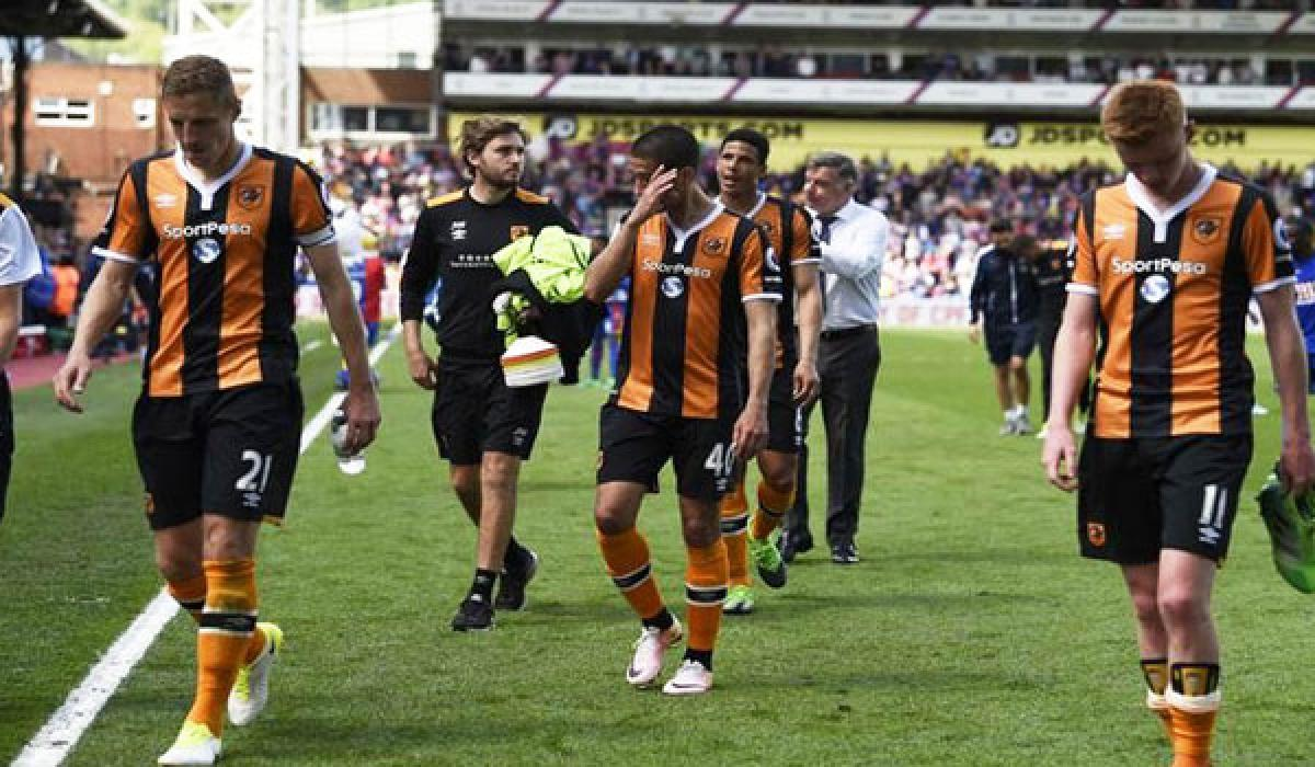 Hull City  gets relegated from EPL