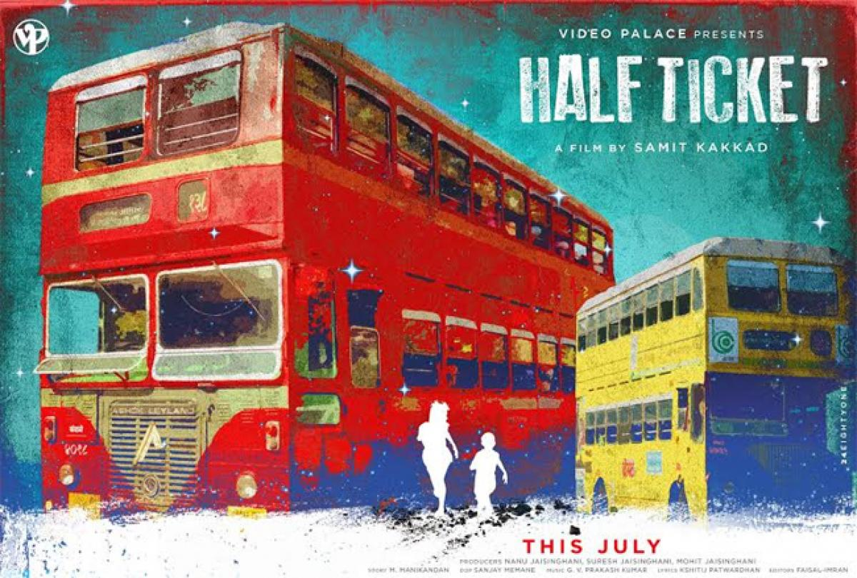 Check out: Third Poster of Half Ticket is out now!