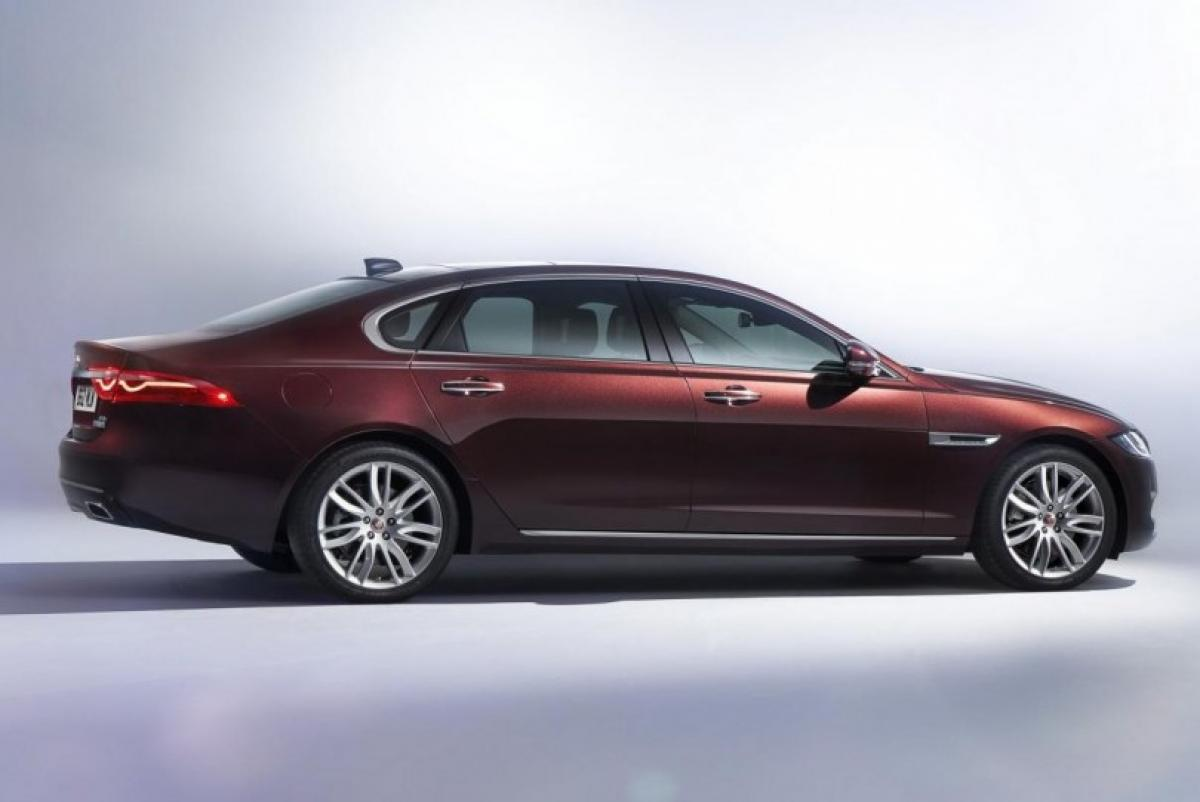 Check out Jaguar XFL specifications at Beijing Auto Show