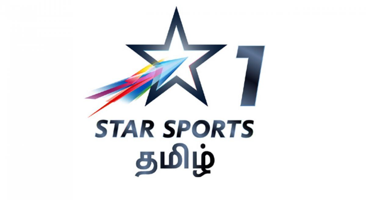 Star sports pioneers Tamil sports channel