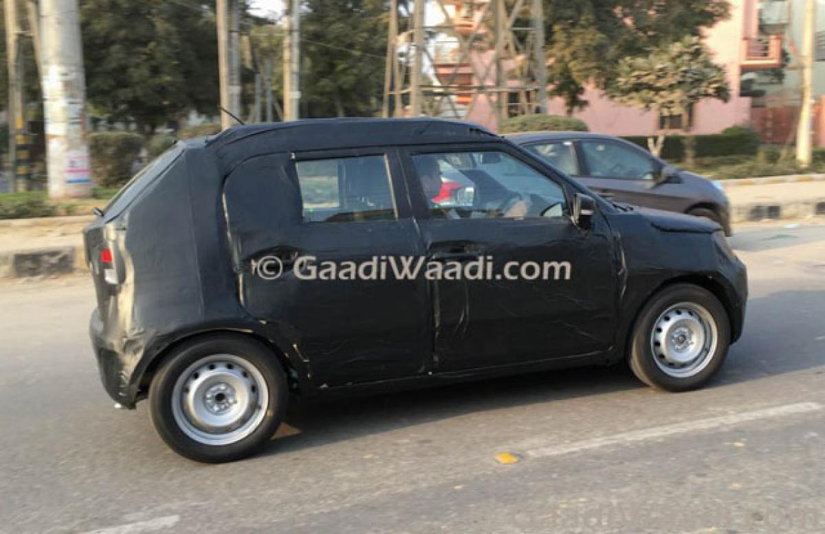 Mini SUV Maruti Ignis testing begins