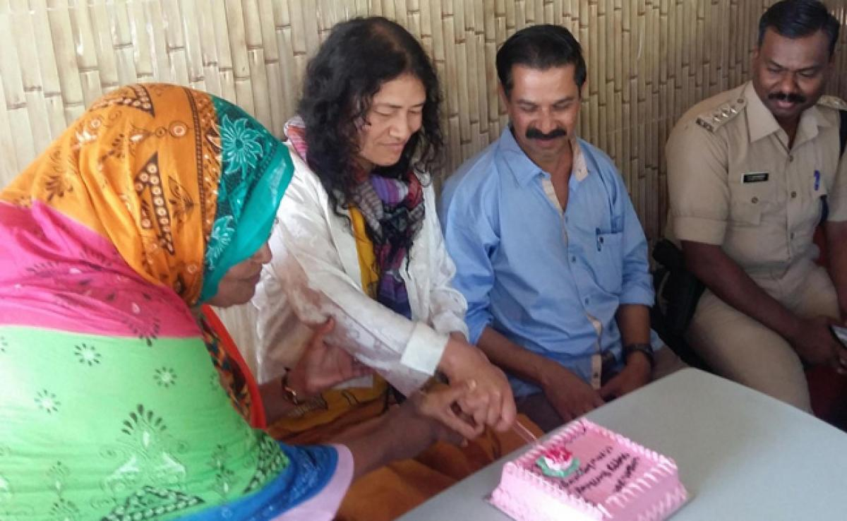 After poll debacle, Irom Sharmila in Kerala to live among tribals