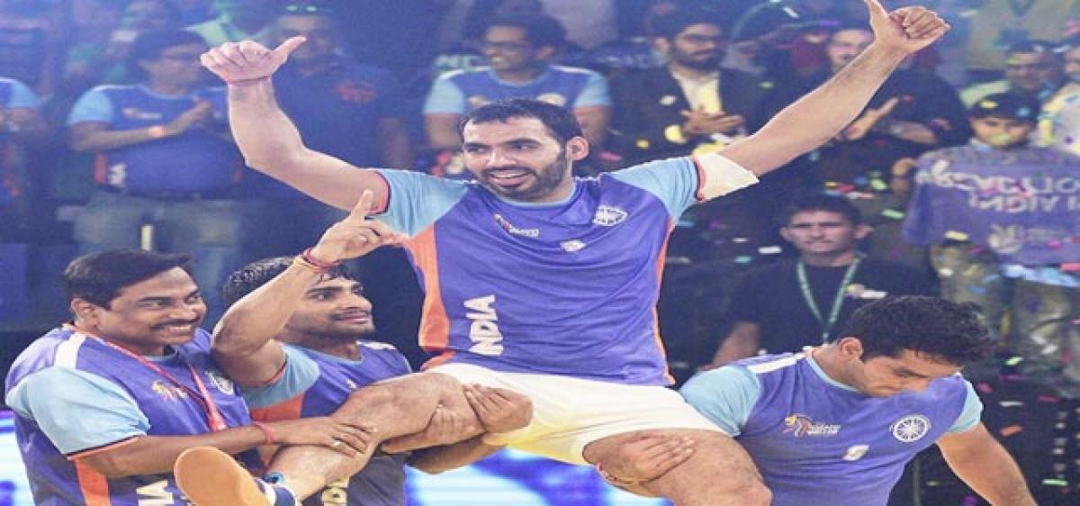 Kabaddi World Cup stars get 10 lakh each