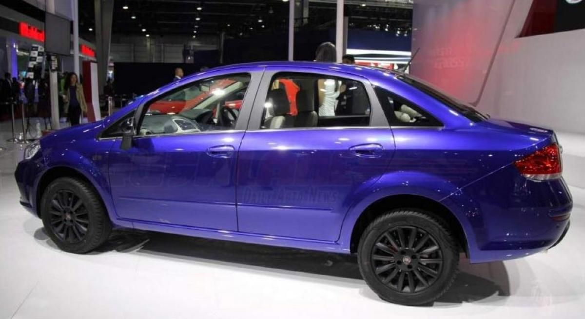 Fiat Linea 125s is the most powerful Linea, on display at 2016 Auto Expo