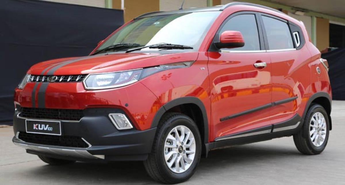 Mahindra KUV100 starts Exporting