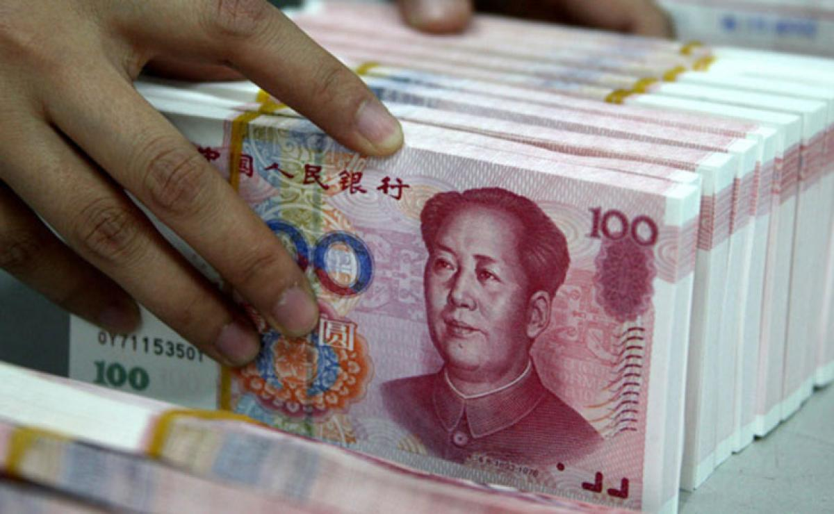 Chinese yuan strengthens