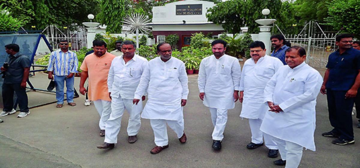 TBJP leaders leave cadre shell-shocked