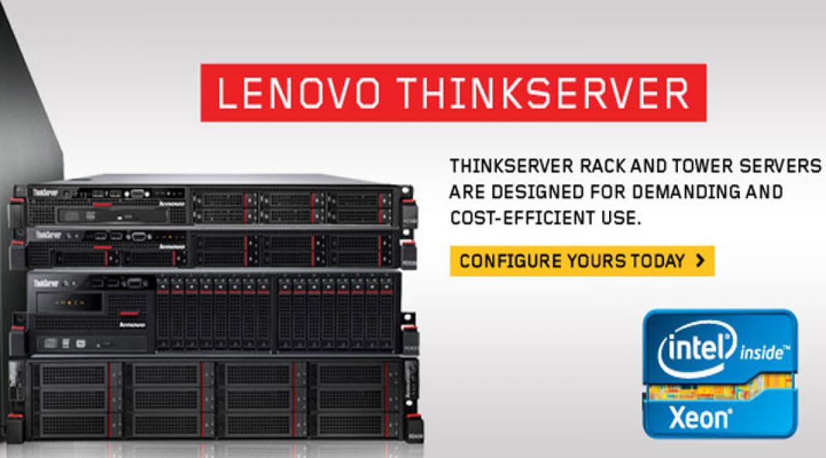 Lenovo launches ThinkServer