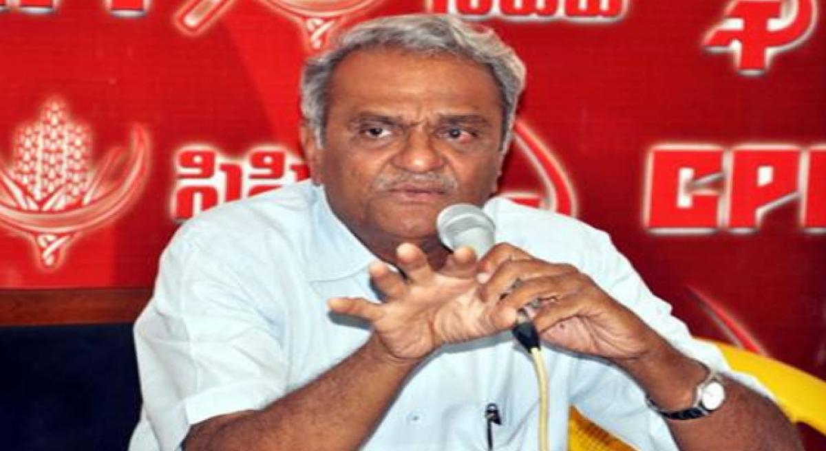 Narayana rallies teachers for fight