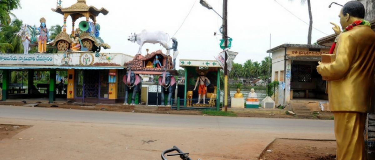 For installing Ambedkar statue, Dalits face social boycott