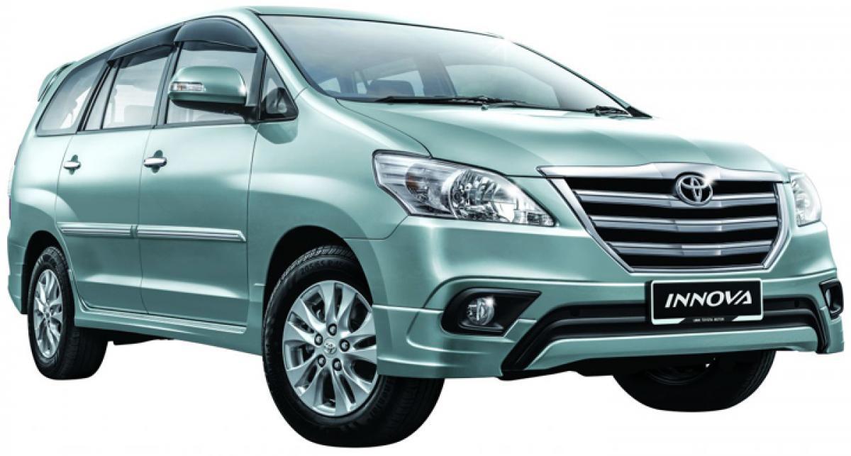 Toyota stops production of Innova