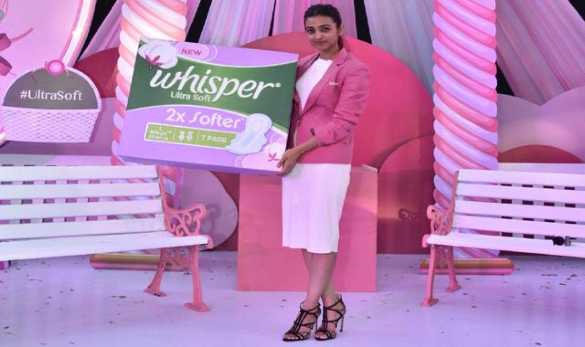 Radhika Apte encourages girls to be bold