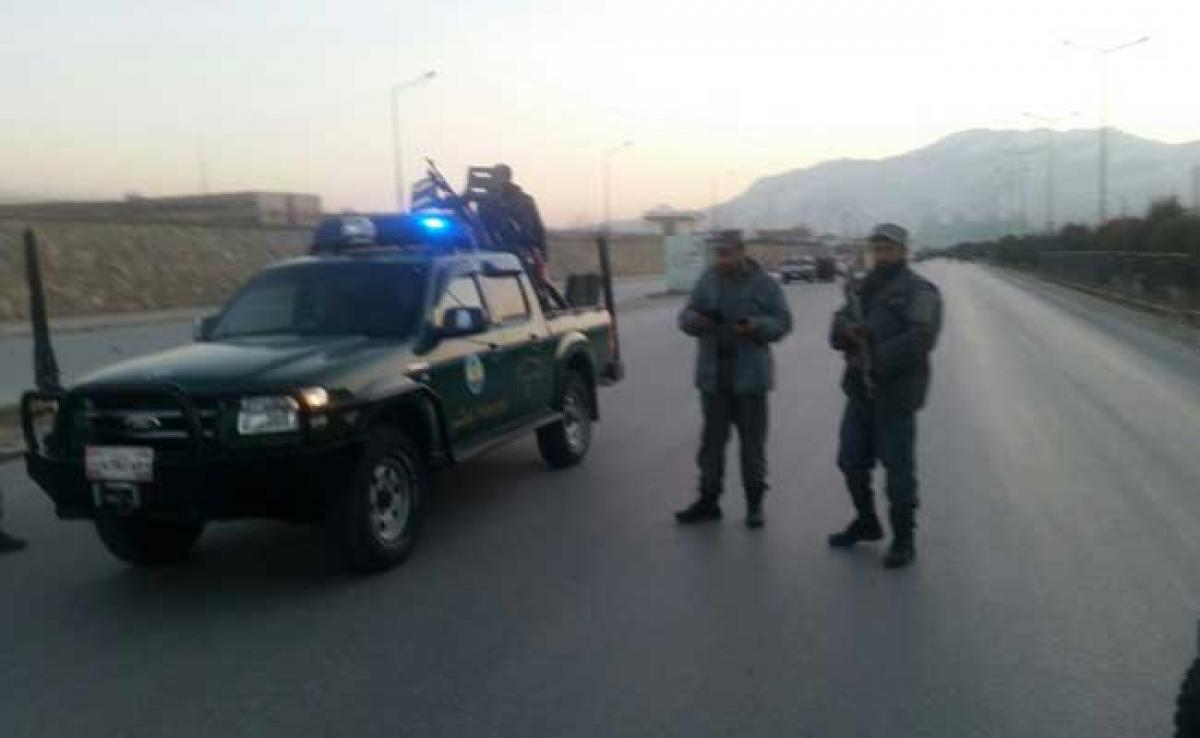 Explosion, gunfire reported near hospital in Kabuls diplomatic area