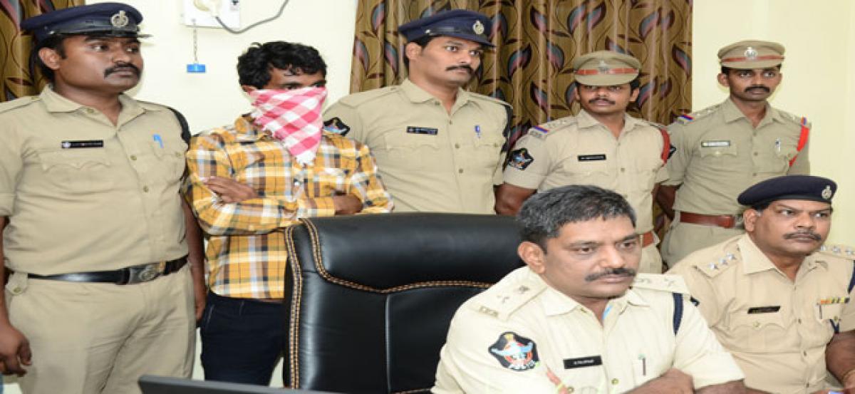 Police arrest rape accused