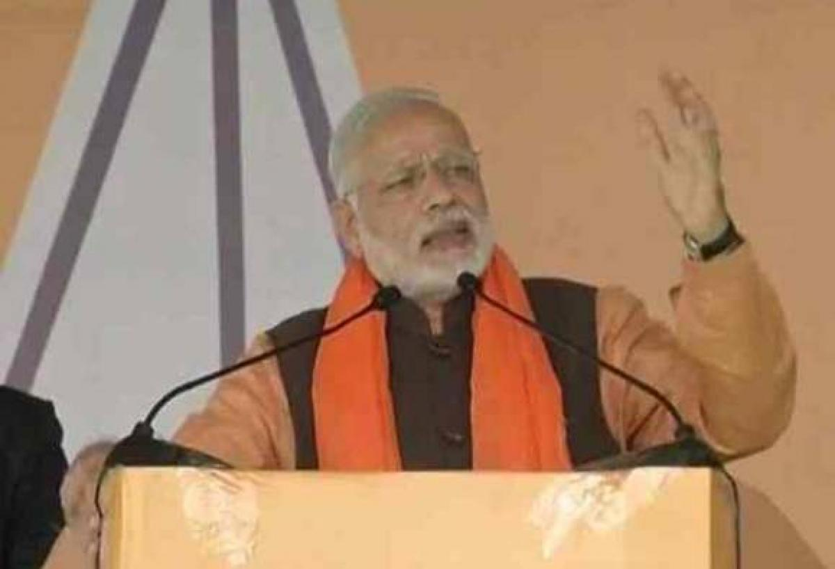 PM Modi brands AAP as an outsider in Punjab