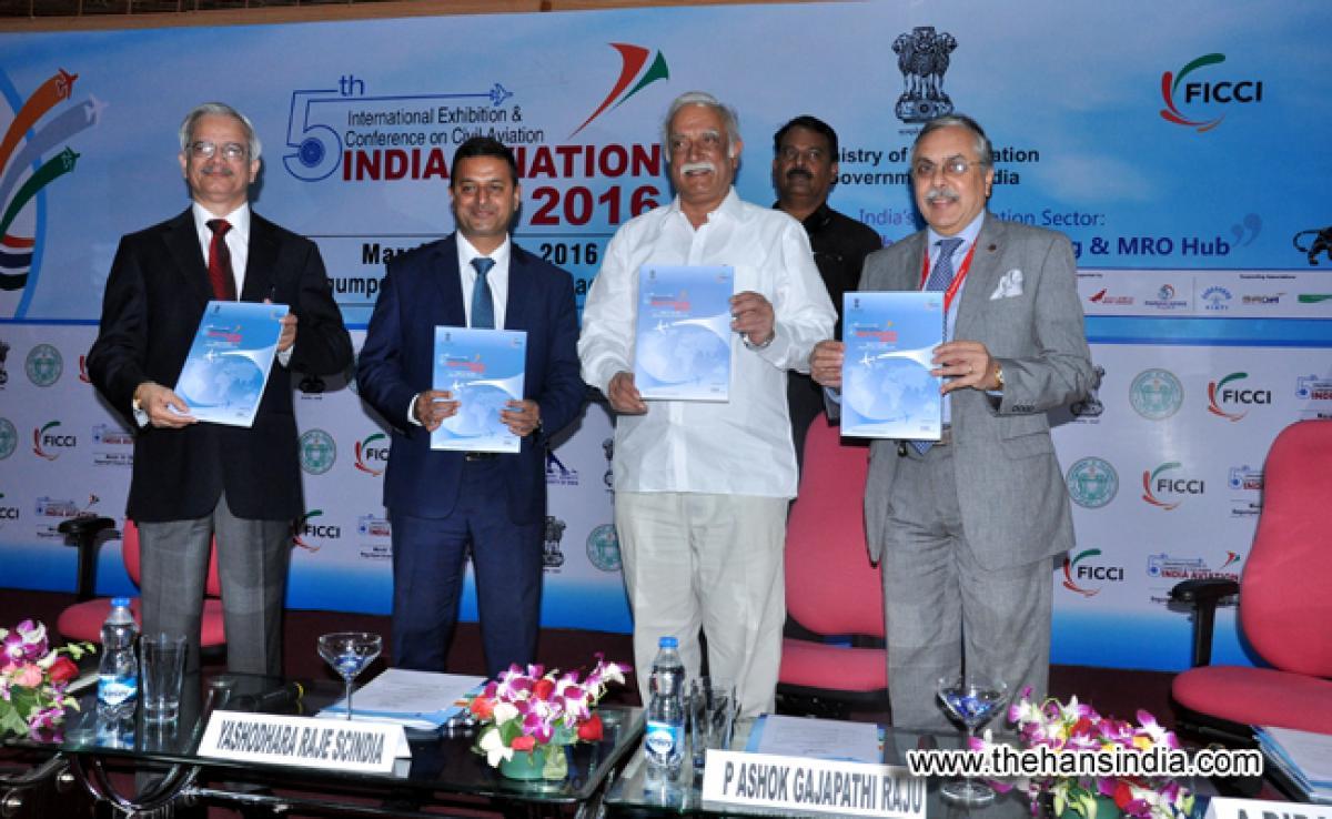 Photos: 5th india aviation show 2016 Hyderabad.