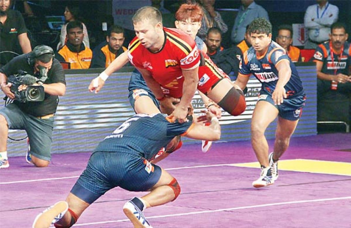 Narrow win for Bangalore