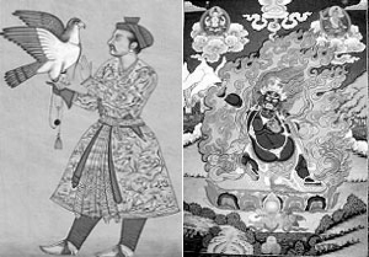 Folk paintings and traditions of India