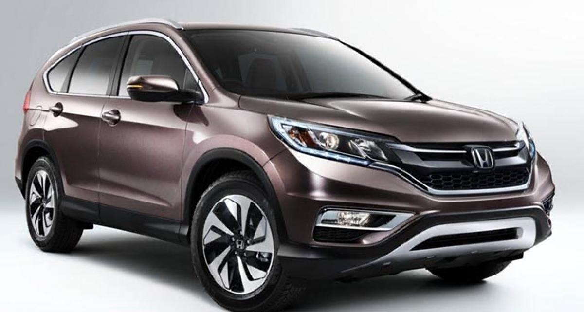 2017 Honda CR-V to grow bigger, will be a 7-seater