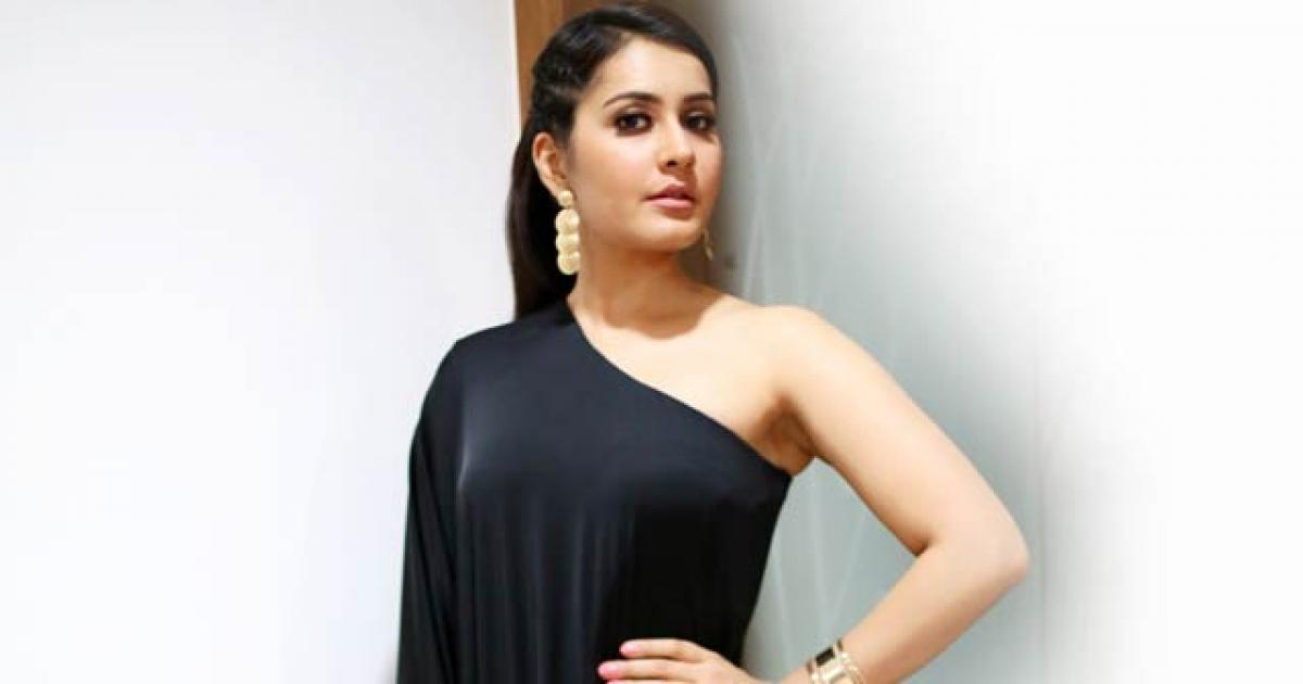 Lucky to groove to Chiru remix number: Raashi