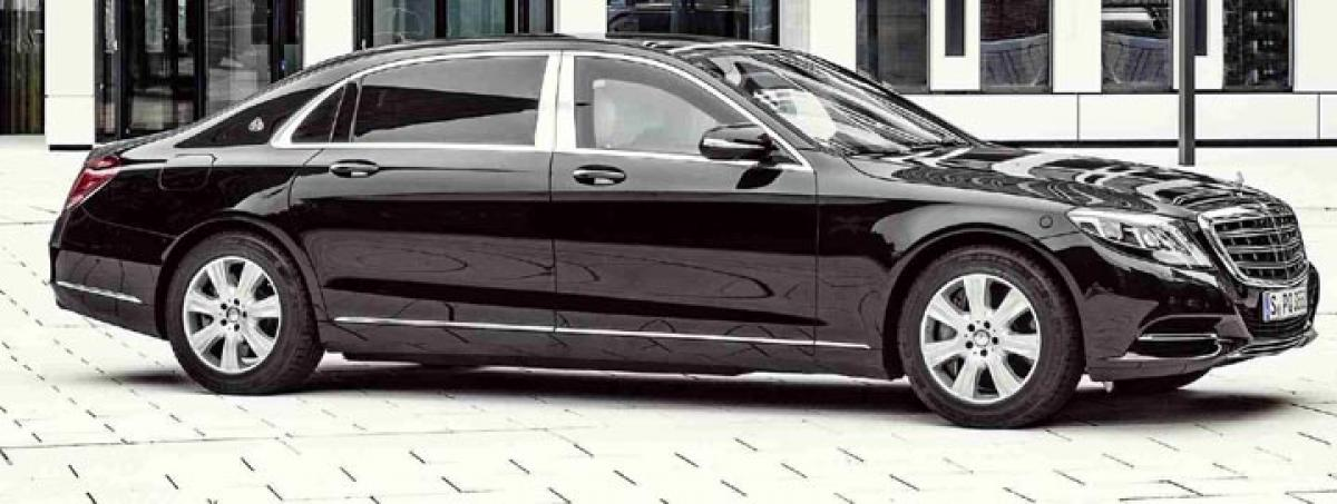 Mercedes-Maybach S600 Guard launch on March 8