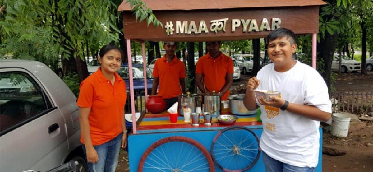 Mohalis MBA Graduate on road to success with food cart Maa Ka Pyaar
