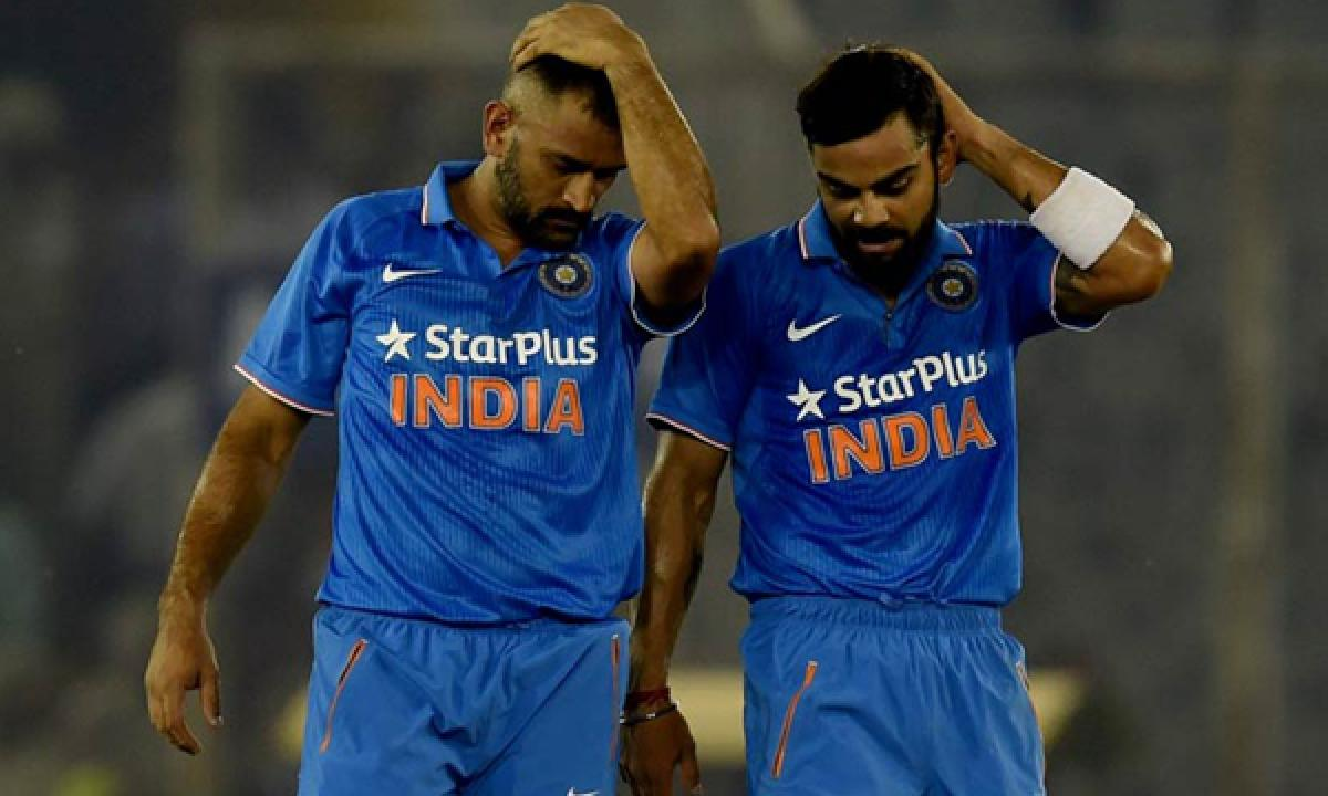 MS Dhoni and Virat Kohli took the game away from us: Jimmy Neesham