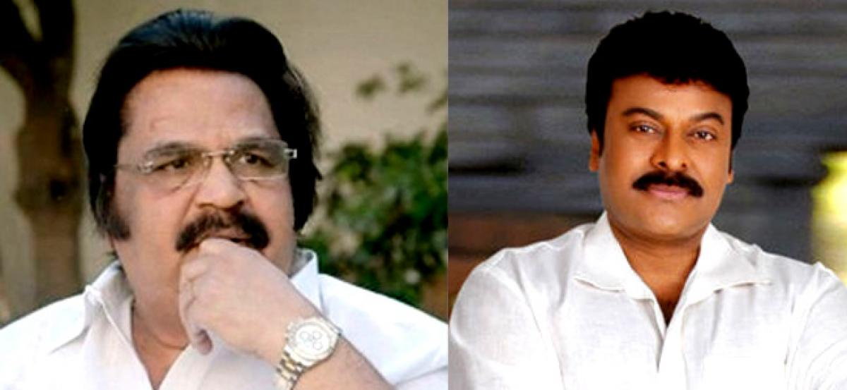 Dasari-Chiru relationship hits a new curve