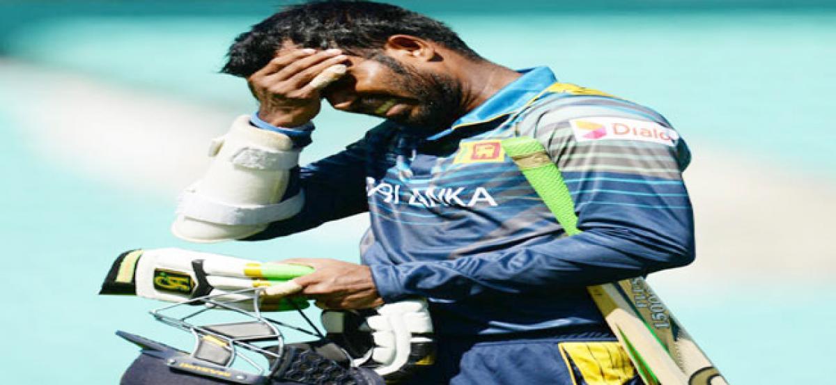 Tharanga banned for two games