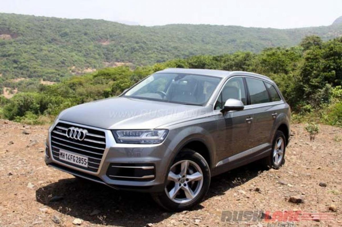 Audi USA recalls Q7 over airbag issues