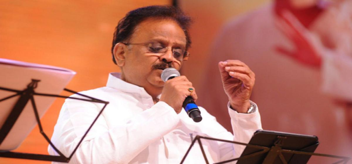 SP Balasubrahmanyam to be felicitated on Sunday