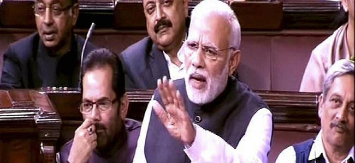 700 Maoists Have Surrendered Post Notes Ban: PM Modi In Rajya Sabha