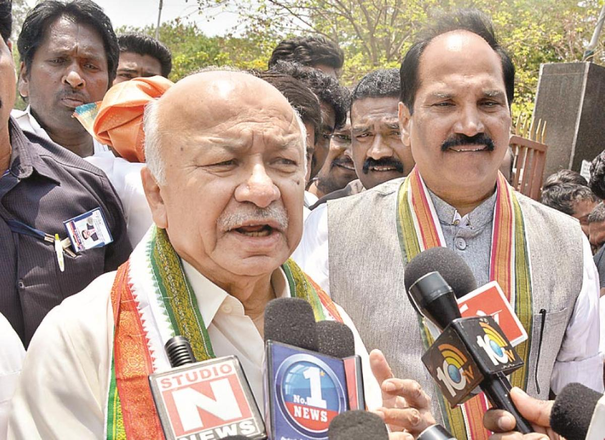 Congress MPs team will complain to Prez: Shinde