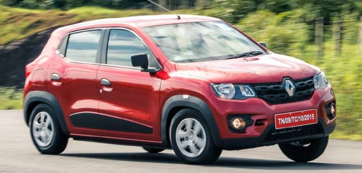Renault-Nissan CMF-A Based Sedan under development
