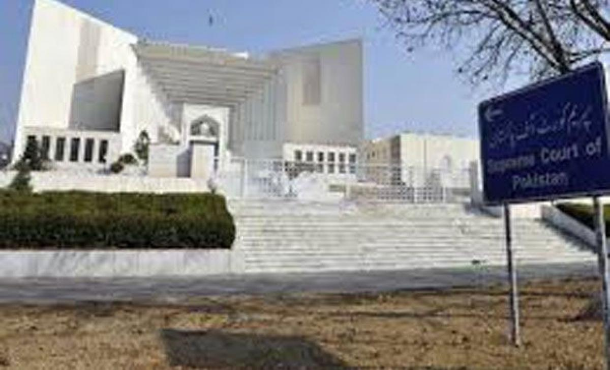 Pak Supreme court upheld parliaments decision to set up military courts