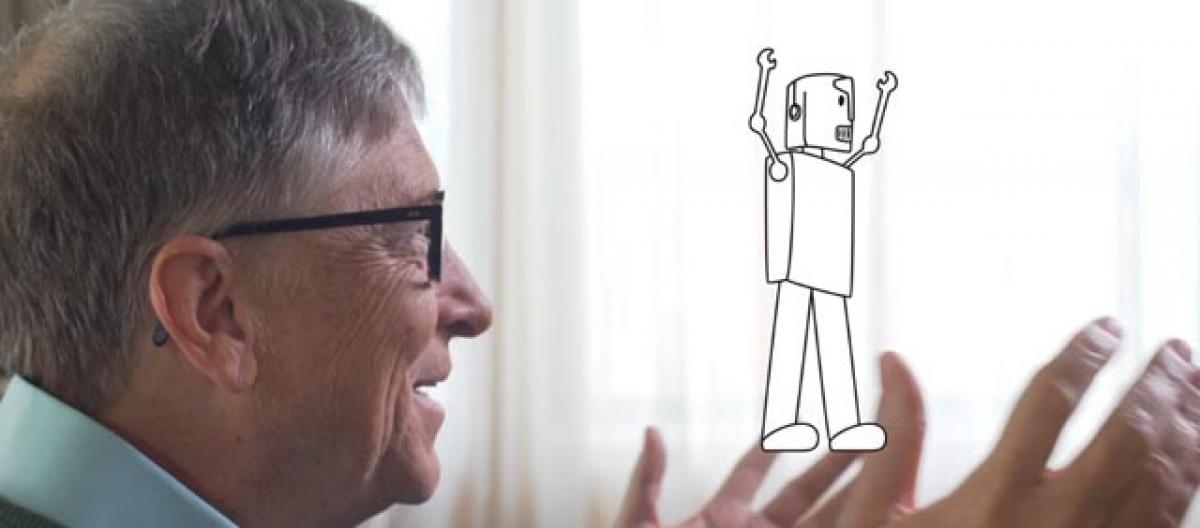 Job-stealing robots should pay income tax: Bill Gates