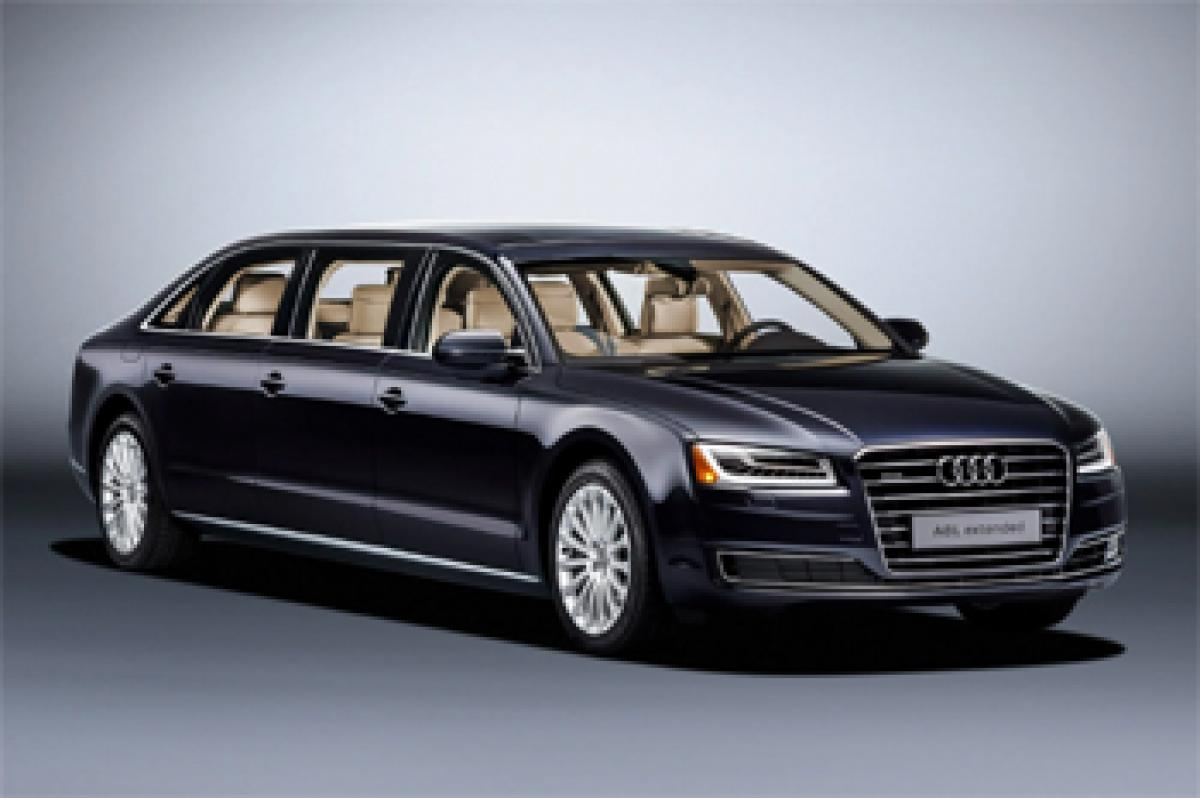 Check out: Luxury sedan Audi A8 L in king size