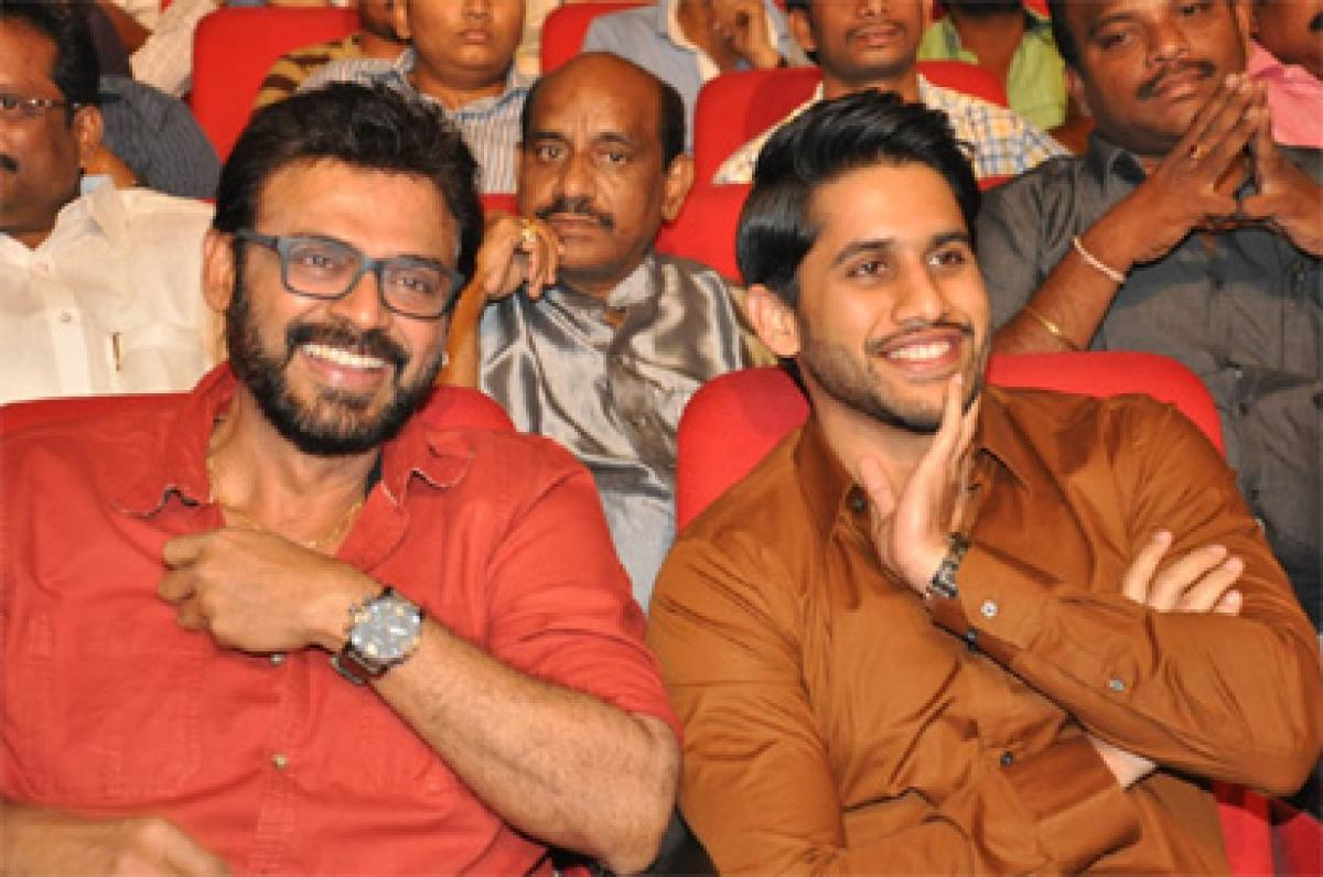 Venkatesh joins hands with Naga Chaitanya