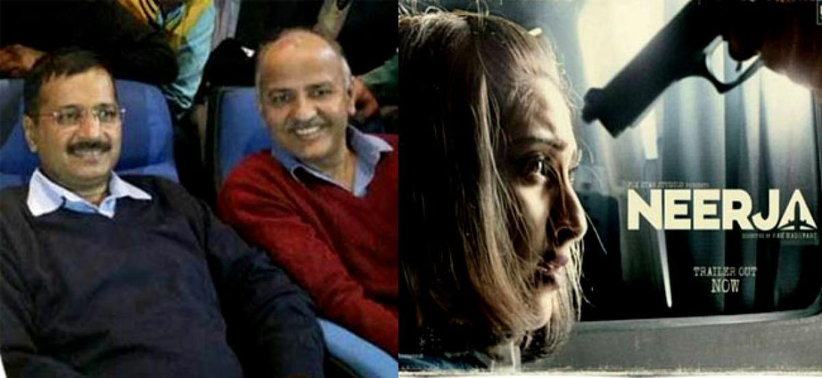 Kejriwal, colleagues watch