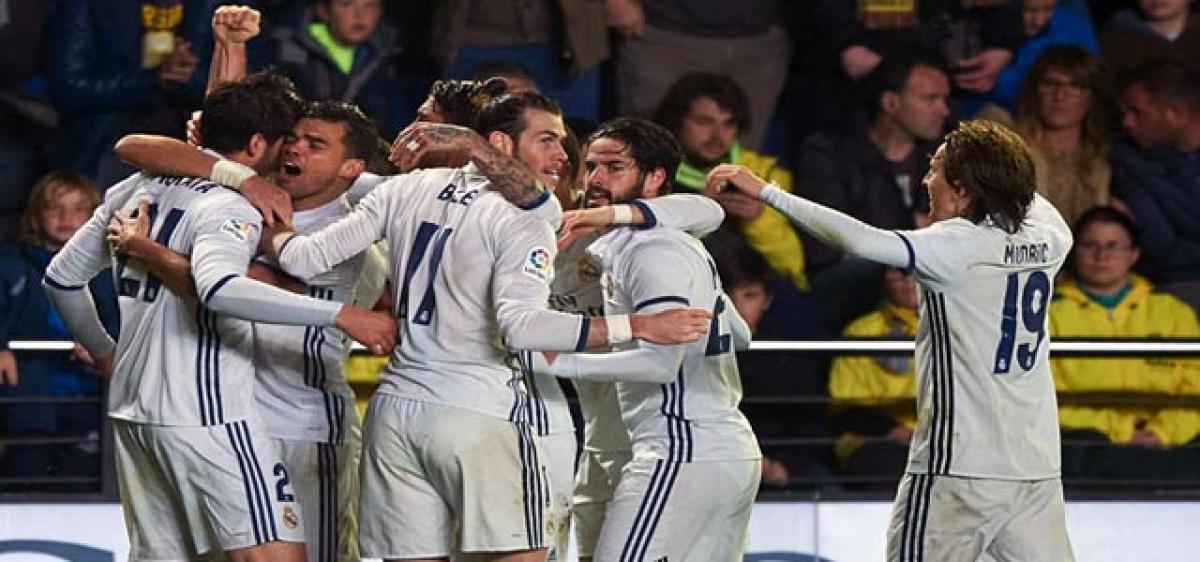 Real's comeback stuns Villarreal
