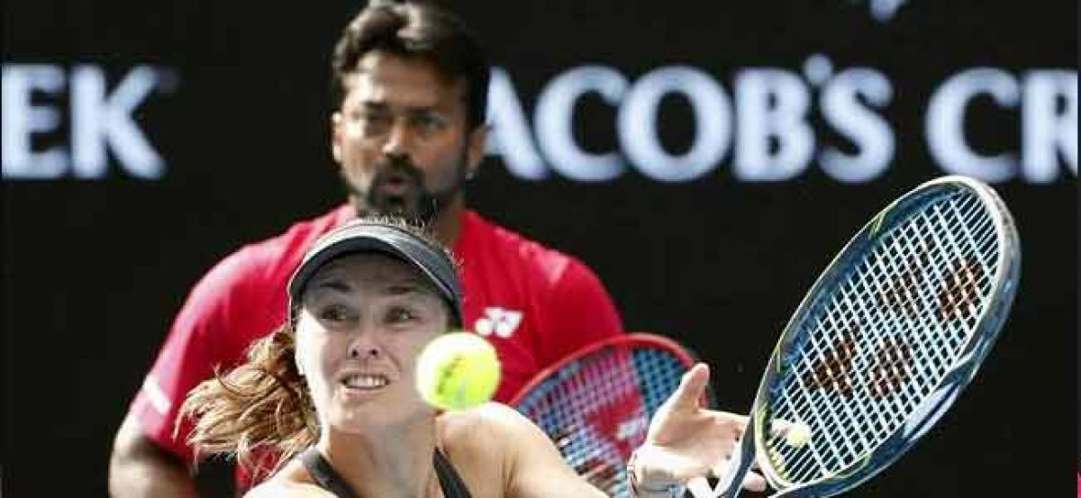 Leander Paes- Martina Hingis knocked out of Australian Open